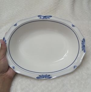 Noritake Dutch Tile #7913 Vegetable Serving Bowl